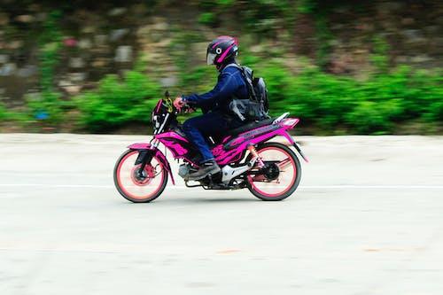 Gratis lagerfoto af bevægelse, motorcykel, single