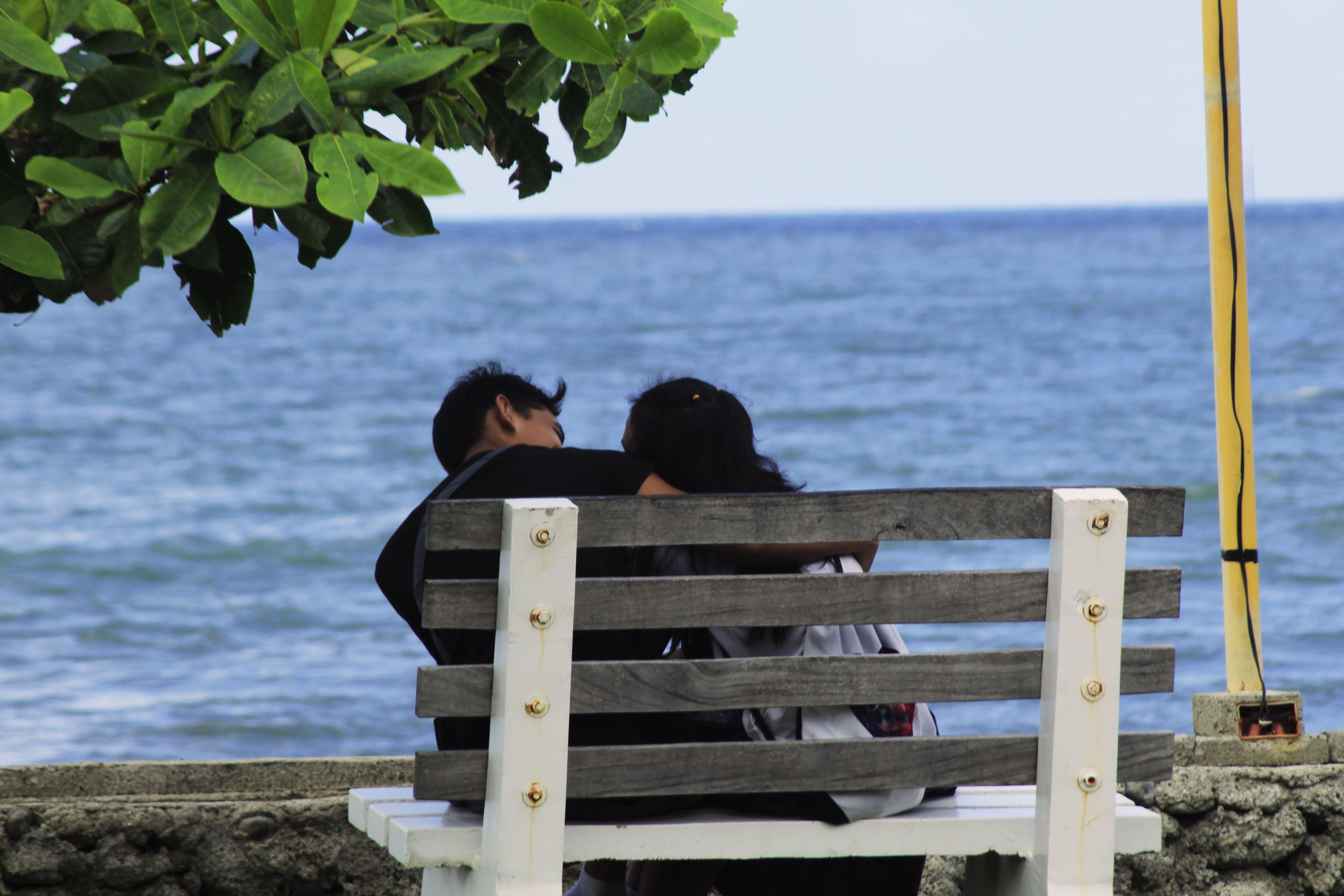 Free stock photo of lover, park, partner, sea