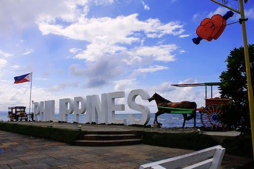 Бесплатное стоковое фото с джип, лошадь, парк, Филиппины