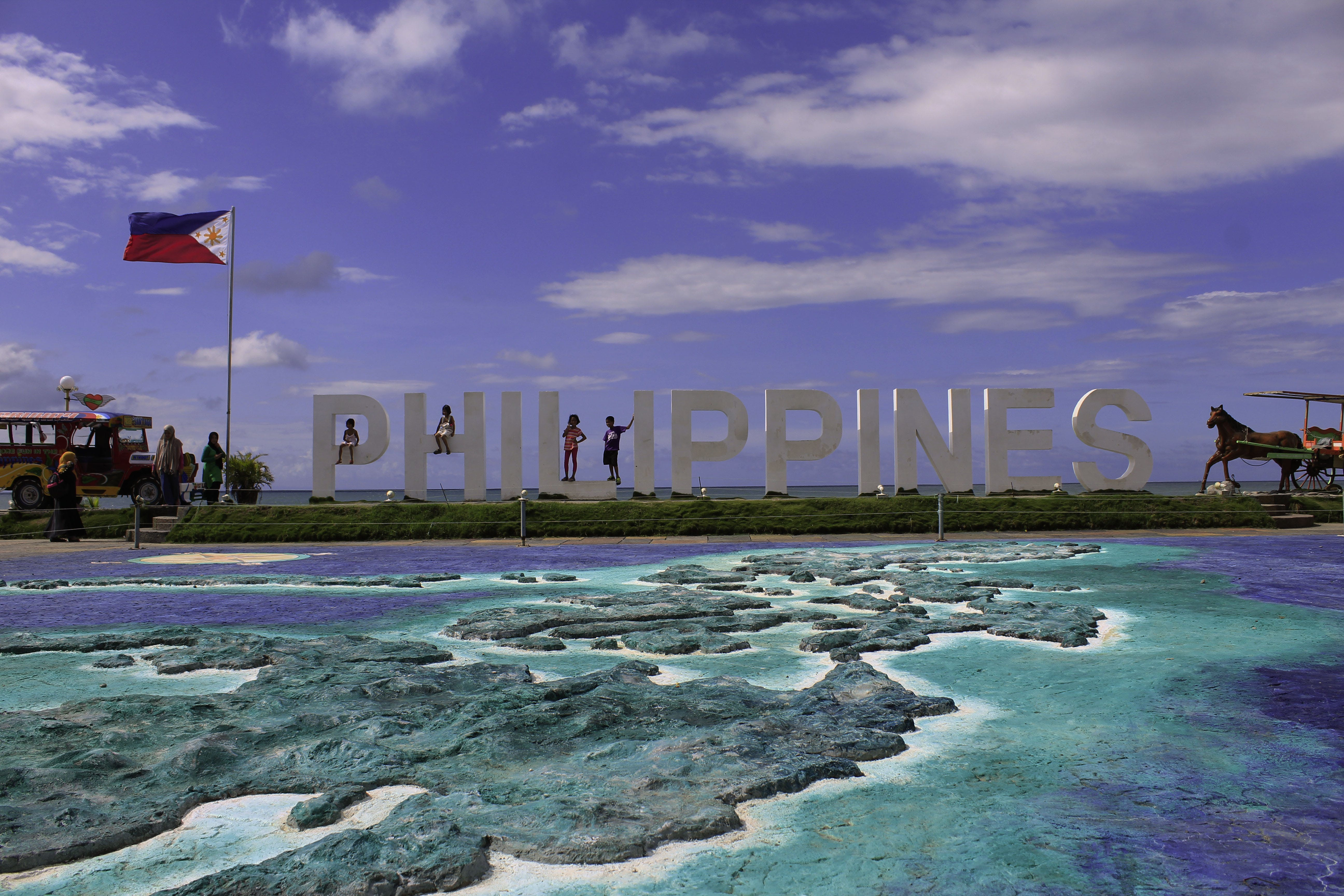 Free stock photo of map, park, Philippines, sea