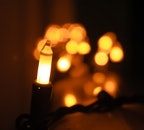 Bokeh Photography Of String Light