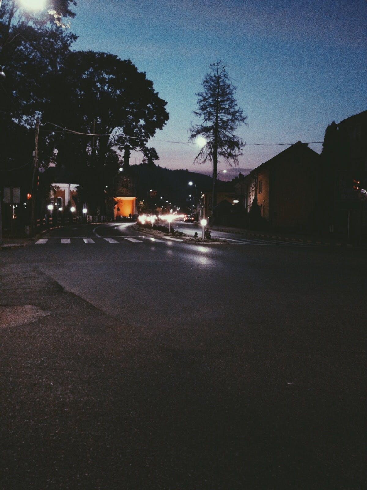 Free stock photo of sunset, lights, autumn, walk