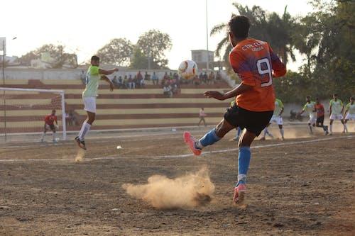 Ingyenes stockfotó focimeccs, focisták, India témában