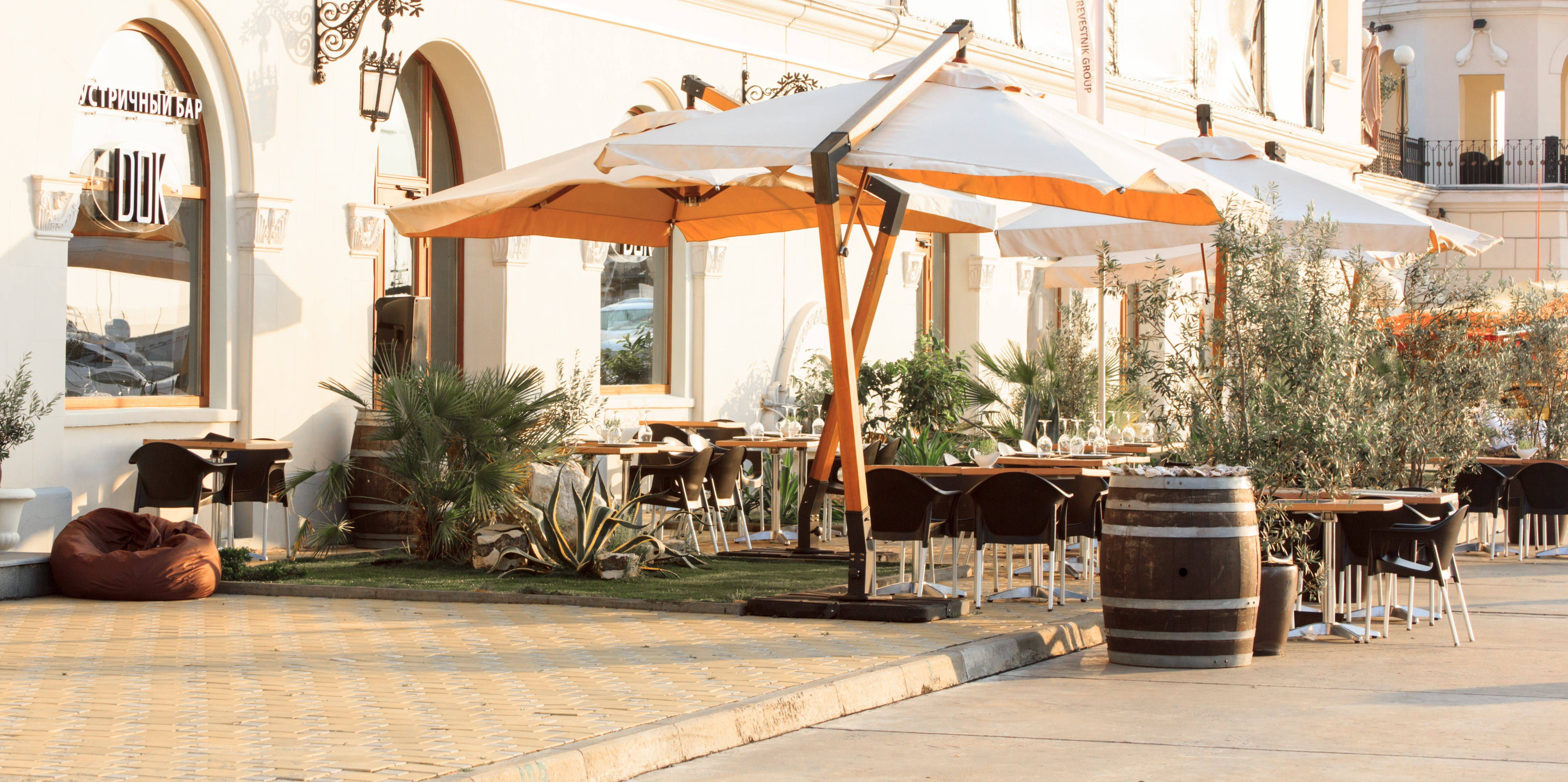 Free stock photo of bar cafe, bay, beach, blacksea