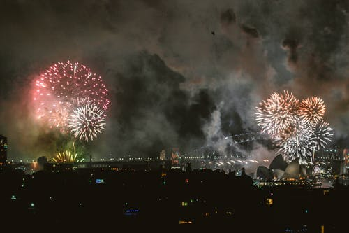 Fireworks Display at Sydney Opera House