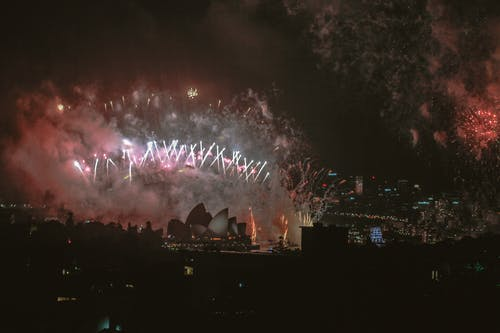 Kostenloses Stock Foto zu feier, festival, hafenbrücke, licht
