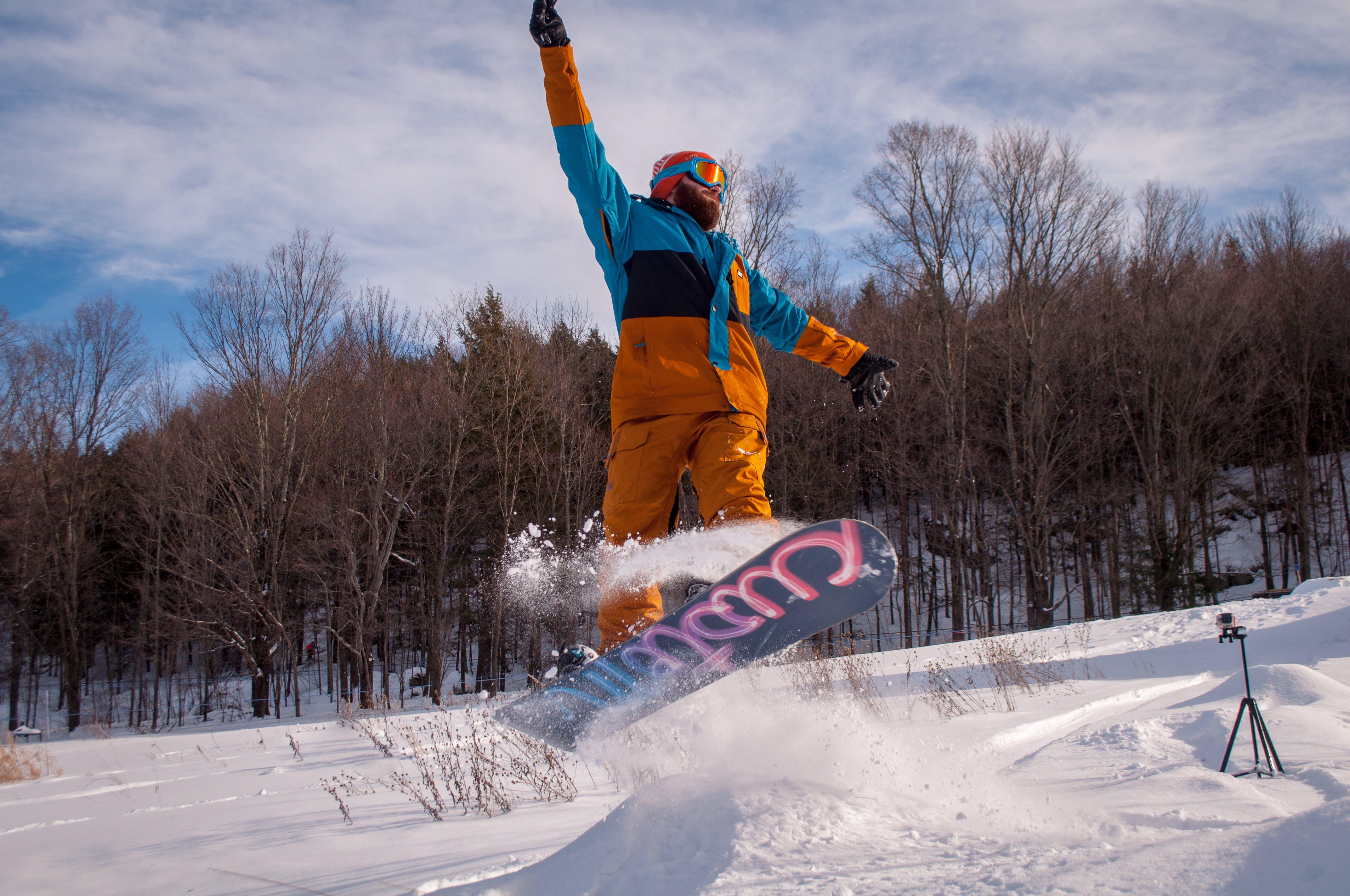 Free stock photo of adventure, board, burton, cold
