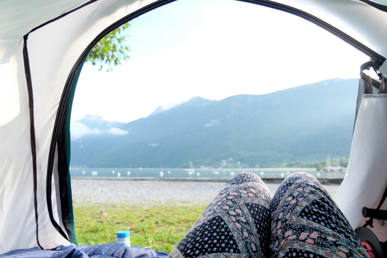 Free stock photo of camping, lake, lifestyle, morning