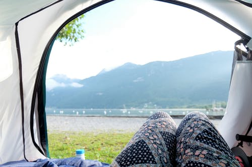 Free stock photo of camping, lifestyle, mountain, tent