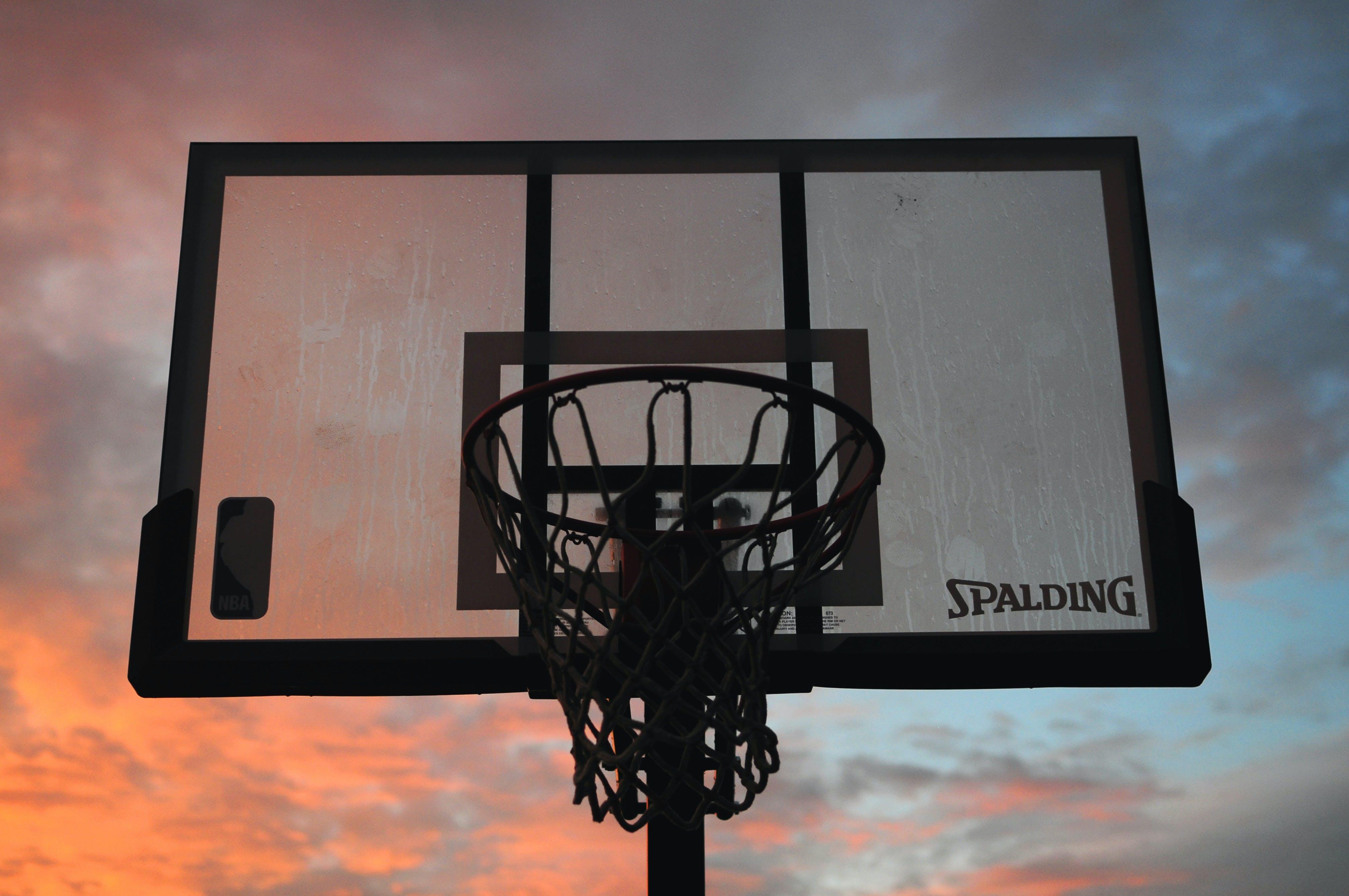 Free stock photo of backboard, ball, basket, basketball
