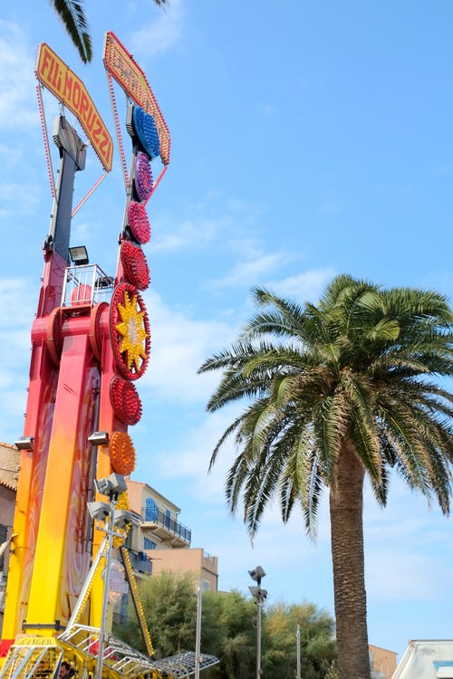 Free stock photo of blue sky, fair, fun, holiday