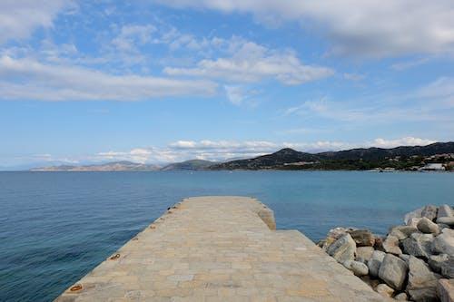 Free stock photo of blue sky, corsica, landscape, mountain