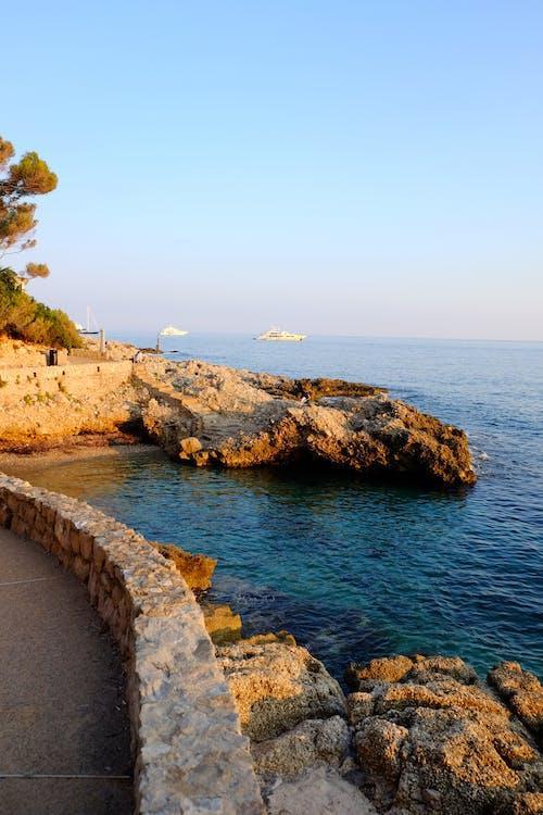 Free stock photo of beach, boat, holiday, monaco
