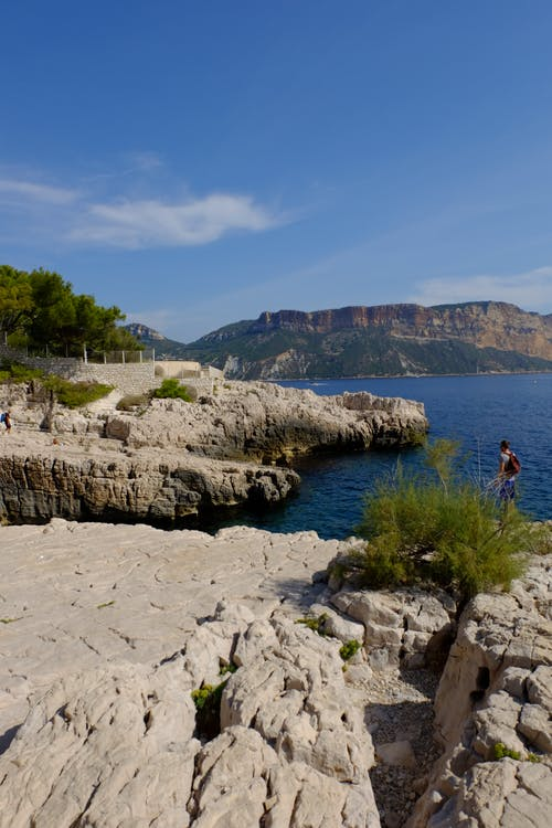 Free stock photo of beach, blue, calanques, france