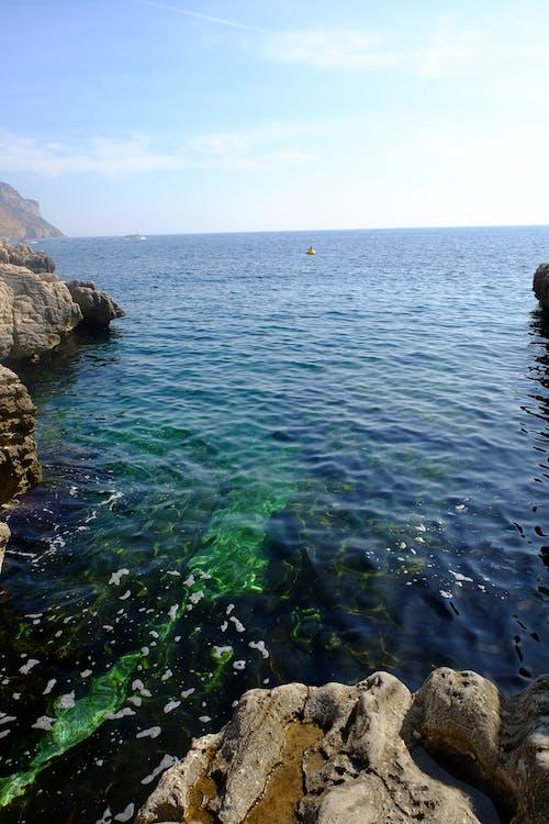 Free stock photo of blue, rocks, sea, swim