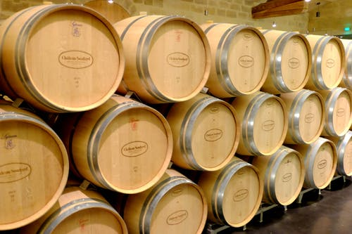 Free stock photo of barrels, oak, vineyard, wine