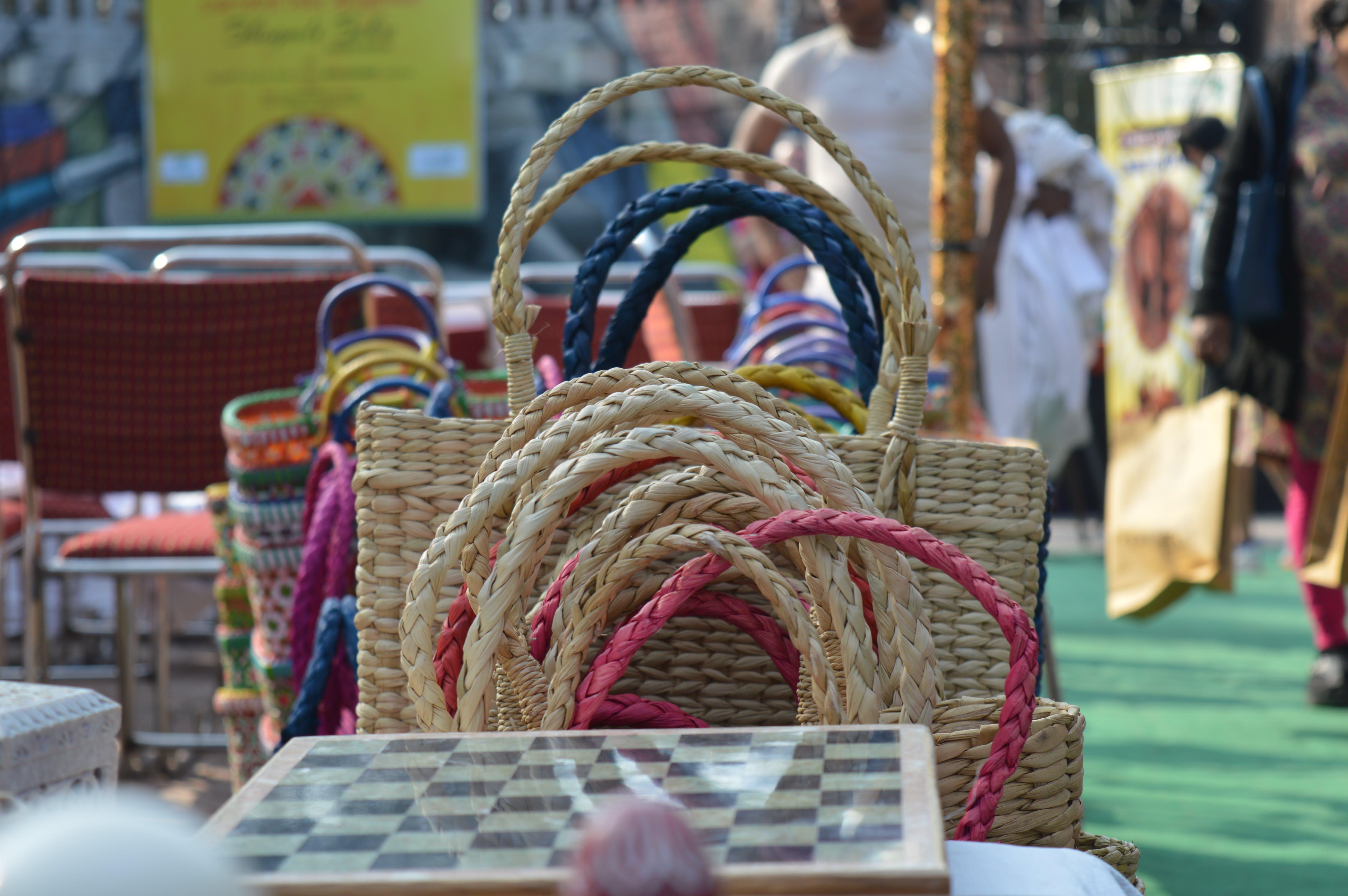 Free stock photo of bags, coir, coir bags, delhi