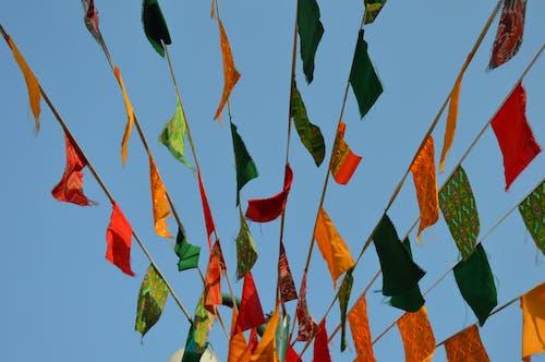 Photos gratuites de beau temps, célébration, coloré, drapeaux