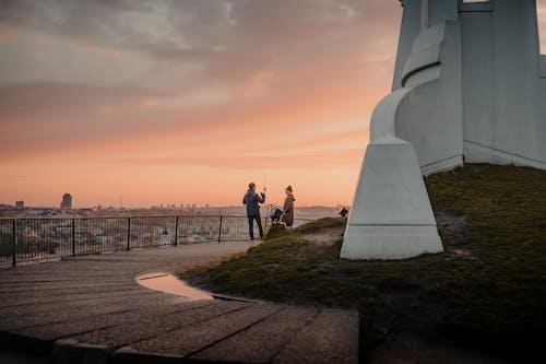Δωρεάν στοκ φωτογραφιών με Άνθρωποι, αρχιτεκτονική, αυγή