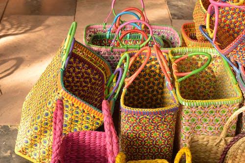 Photos gratuites de coco, coloré, sacs, sacs colorés