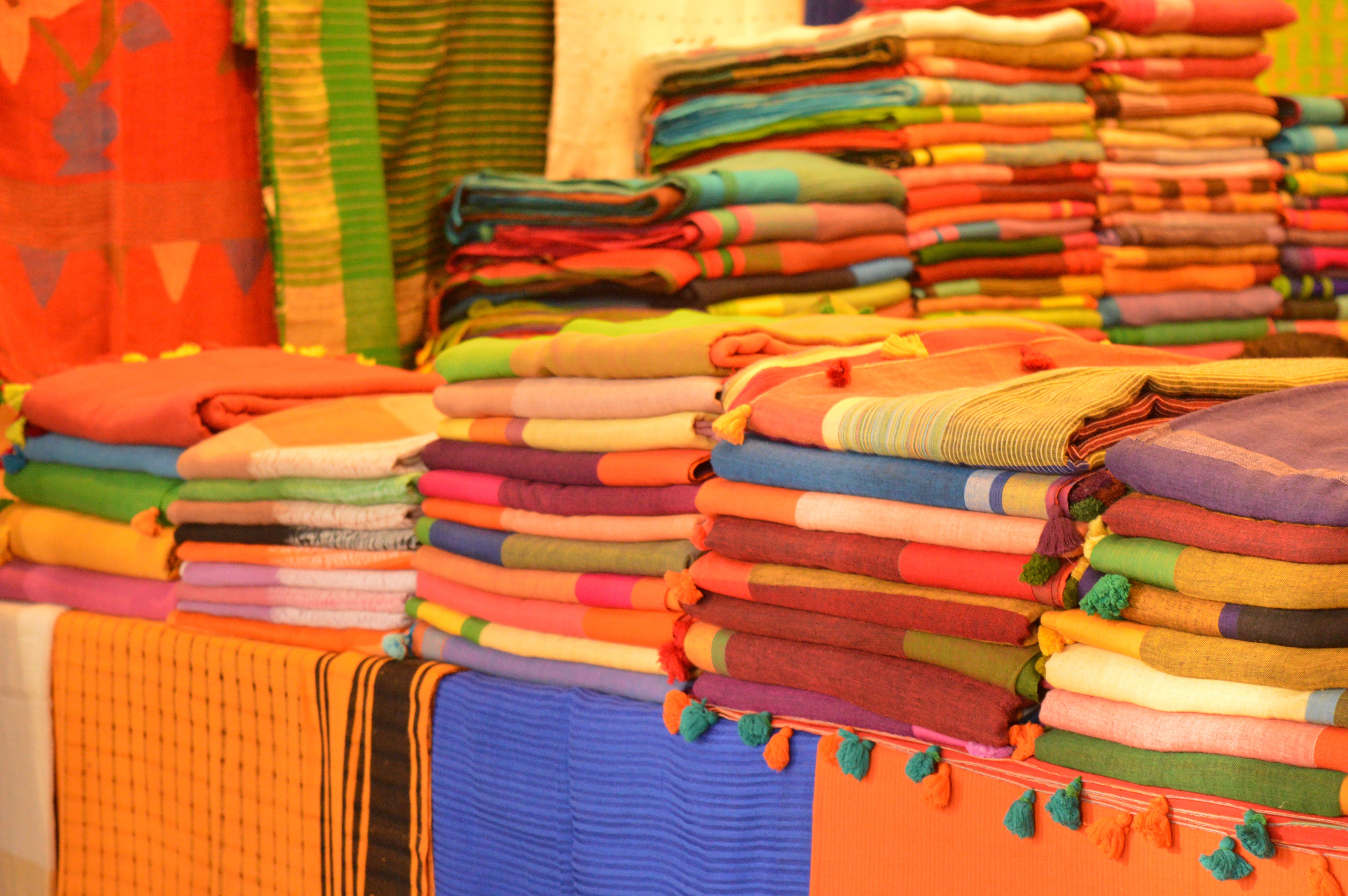Free stock photo of apparel, apparels, dress, saree