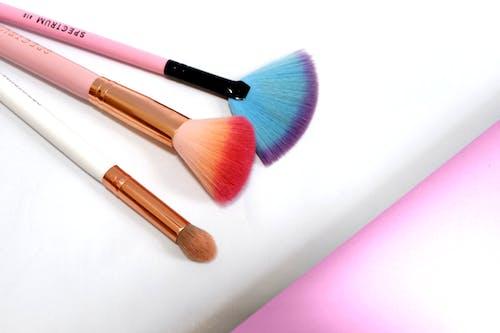 Free stock photo of blush, brush, cosmetics, eyeshadow