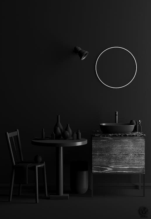 Ingyenes stockfotó árnyalat, asztal, belső témában
