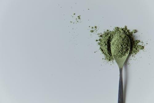 Photo of Matcha Powder on a Spoon