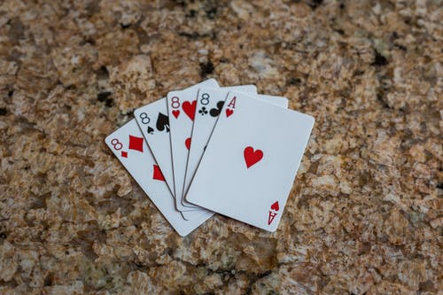 Free stock photo of cards, four of a kind, poker