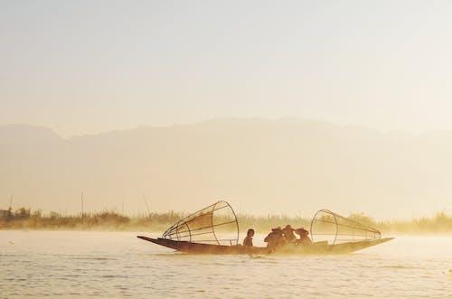 Free stock photo of beach, boat, canoe