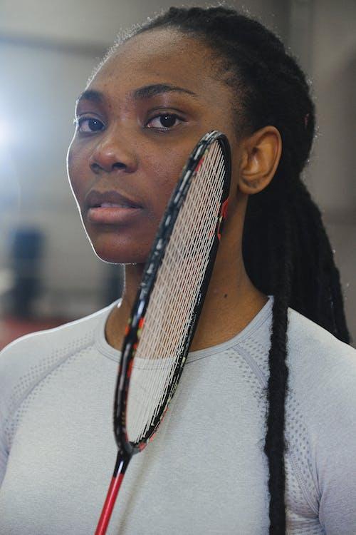 Free stock photo of adult, athlete, badminton