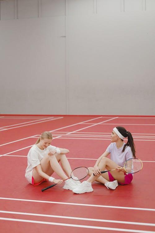 Gratis arkivbilde med atleter, badminton, fritid