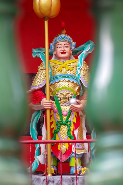 Foto d'estoc gratuïta de déu xinès