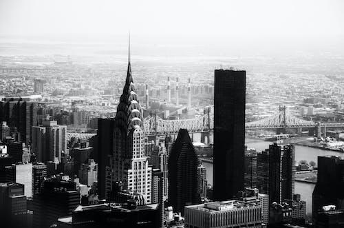 Landscape Shot Of A City