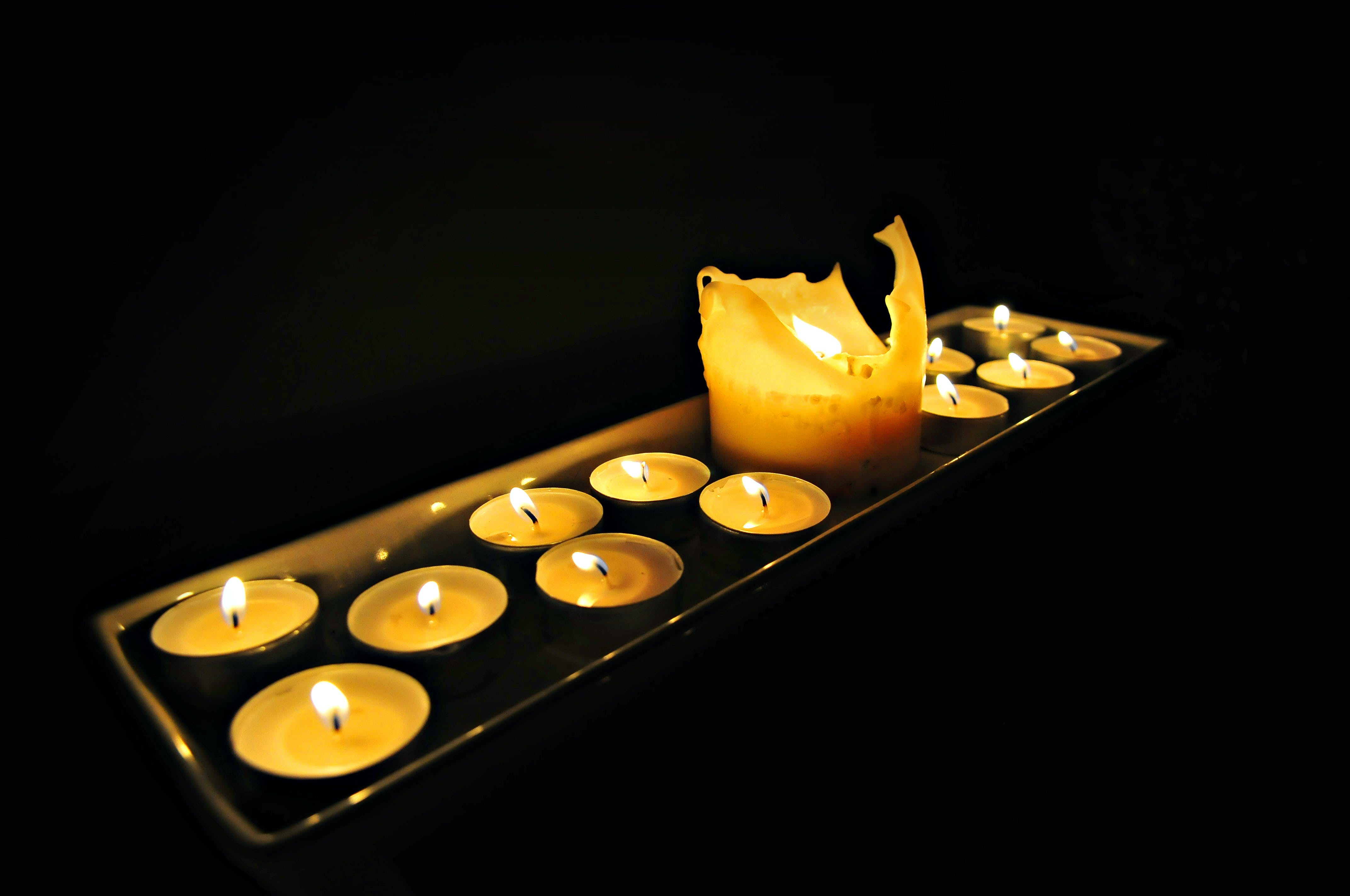 Free stock photo of light, fire, candles, flame