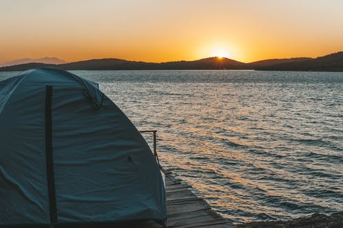 Tent By the Ocean