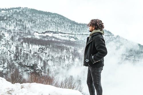 Gratis lagerfoto af bjerge, dis, forkølelse