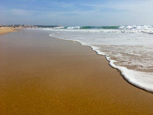 Free stock photo of beach, blue, boulders