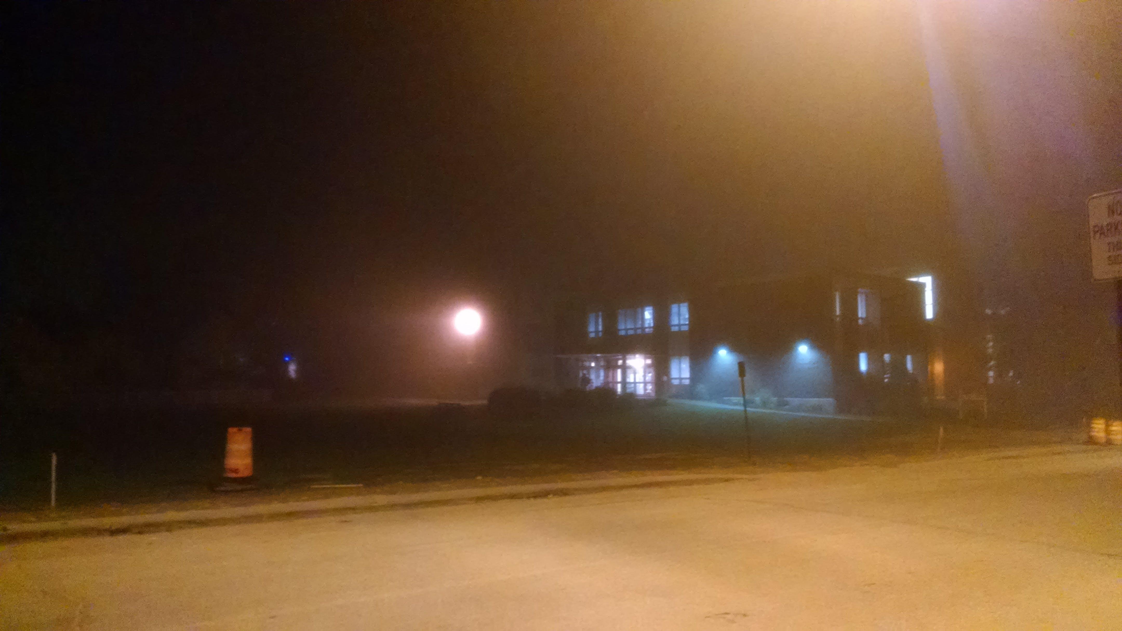 Free stock photo of light, night, dark, fog
