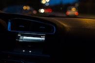 lights, dark, car