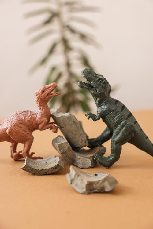Miniature Toys of Dinosaurs