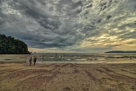 Kostenloses Stock Foto zu himmel, sonnenuntergang, ozean, sommer