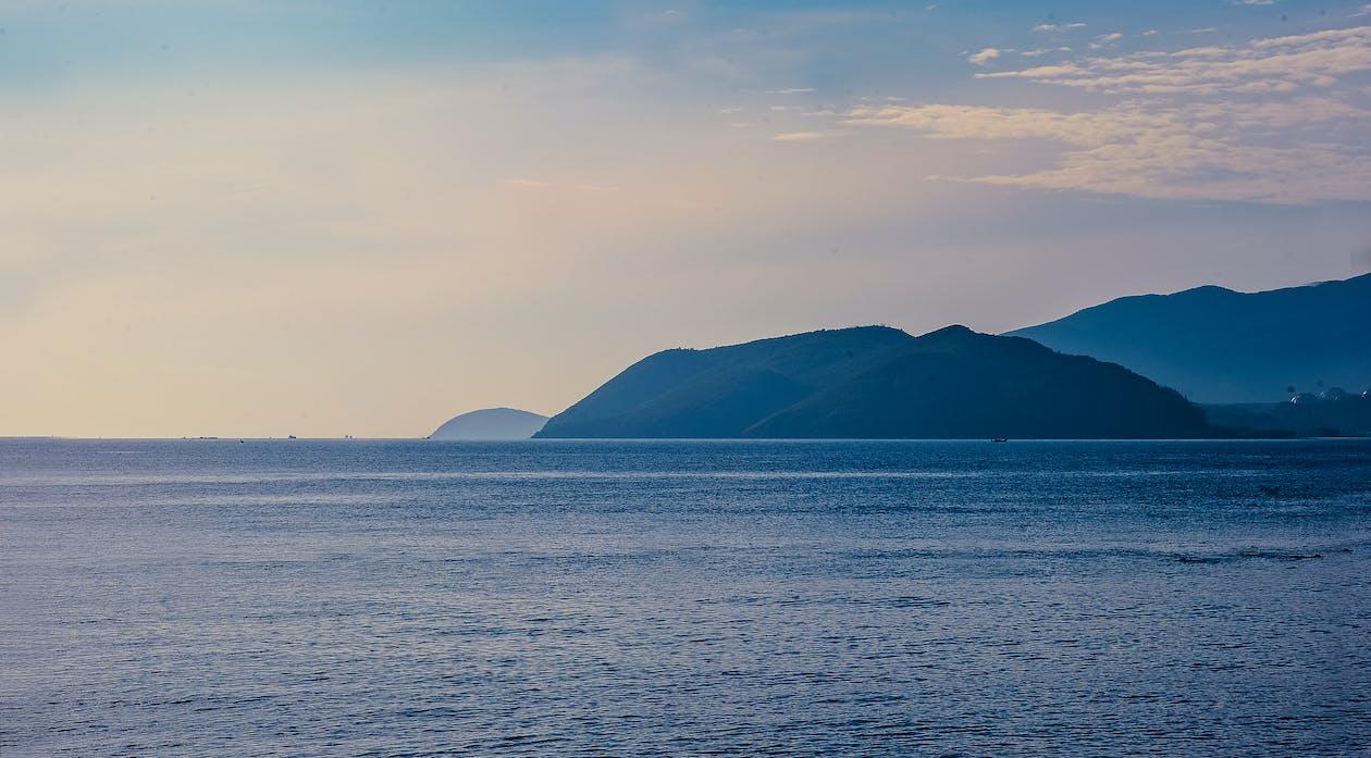 bjerge, hav, havudsigt