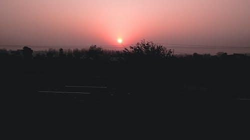 rehan verma, 傍晚的太陽, 塵土飛揚的道路, 天空 的 免費圖庫相片