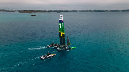Free stock photo of aerial, americascup, bermuda