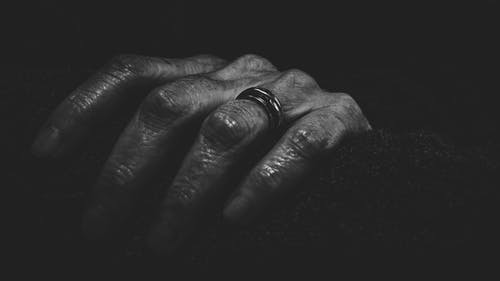 Close-Up Photography of a Hand With Ring