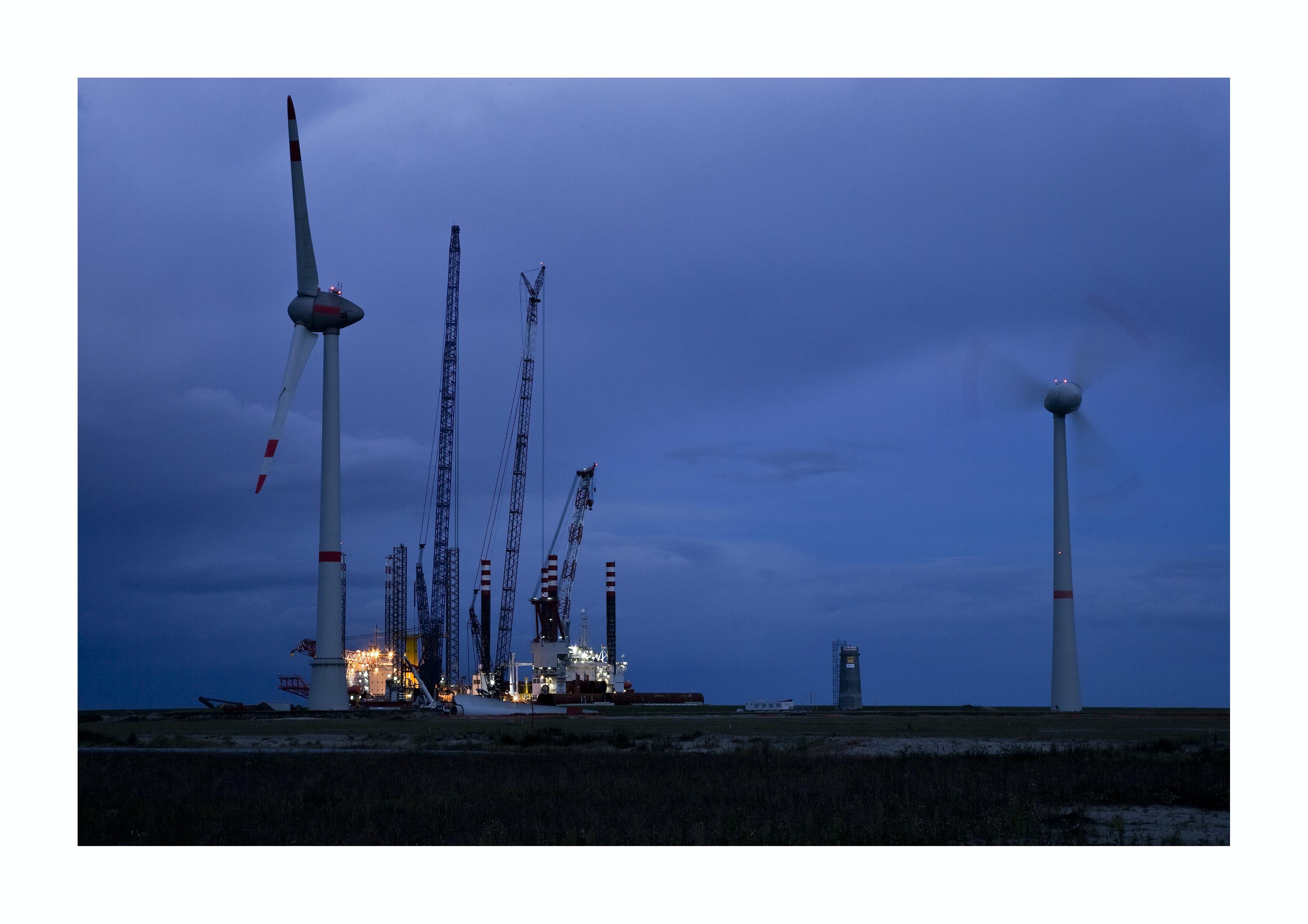Free stock photo of wind energy