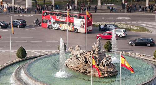 cibeles sirki, Madrid içeren Ücretsiz stok fotoğraf
