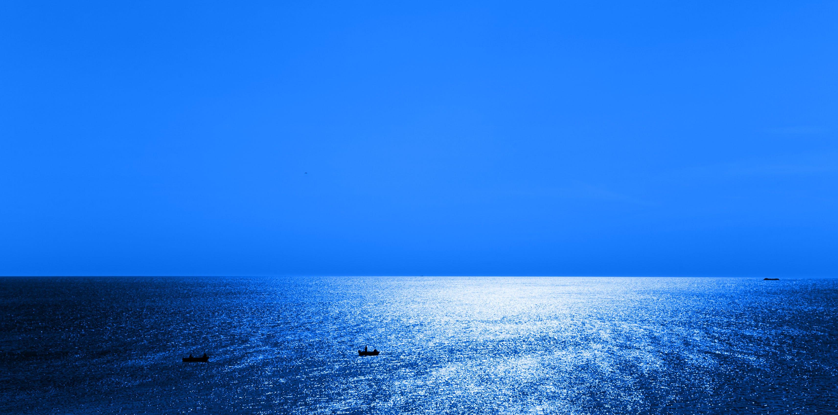 Kostenloses Stock Foto zu meer, natur, himmel, wasser