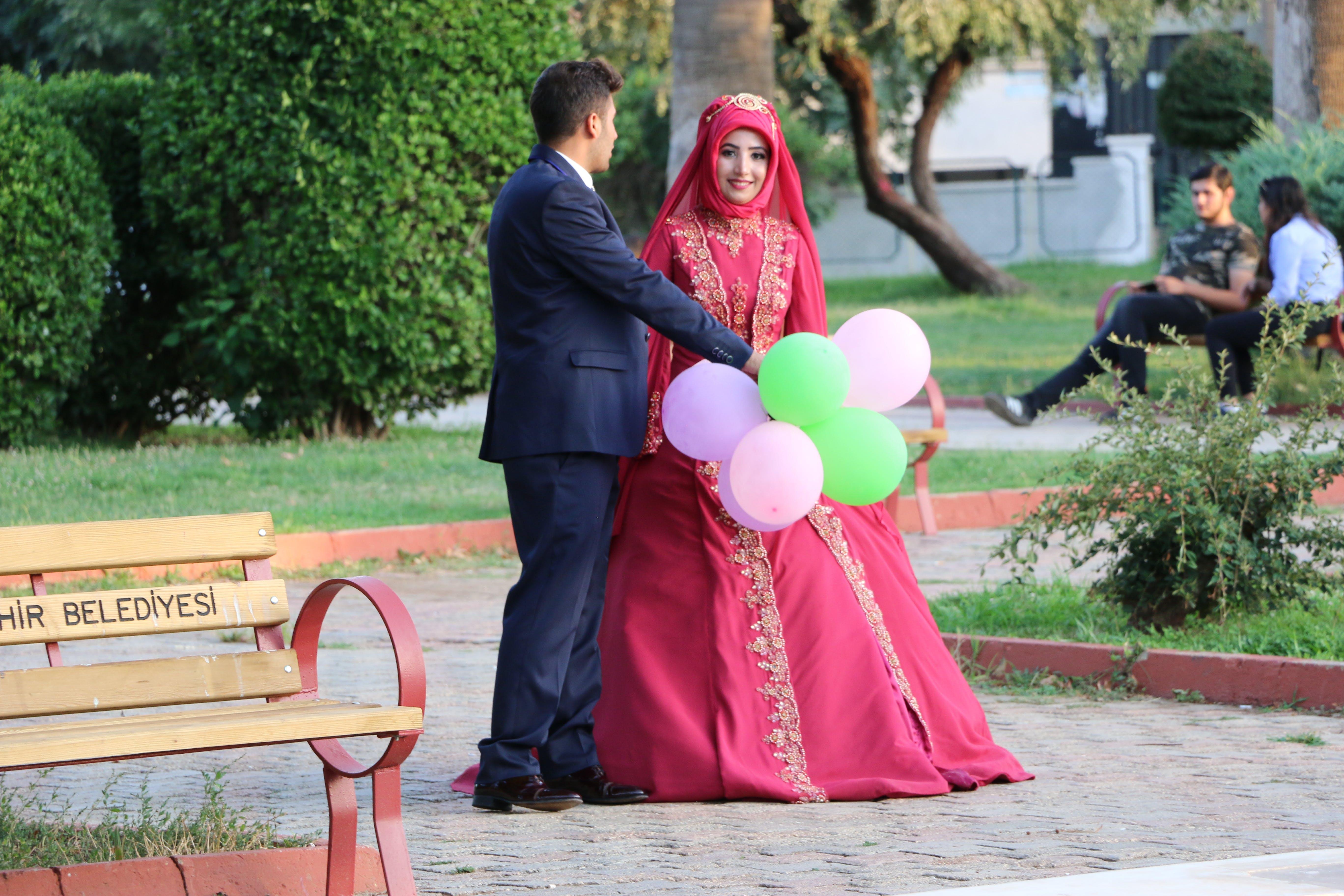 Free stock photo of Balón, damat, düğün, Düğün Fotoğrafçısı
